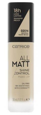 Catrice All Matt Shine Control, trwały podkład matujący 020 N, 30ml