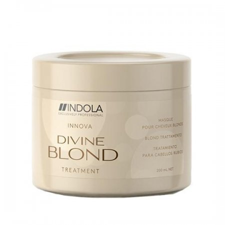 Indola Divine Blond, maska do włosów blond, 750ml