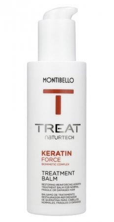 Montibello, balsam do włosów łamliwych, bez spłukiwania Keratin Force, 150ml