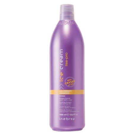 Inebrya Liss-Pro, szampon wygładzający, 1000ml