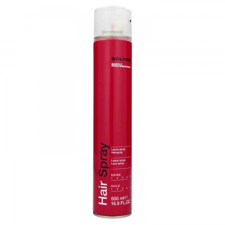 Solfine Style Hair Spray, lakier do włosów, 500ml