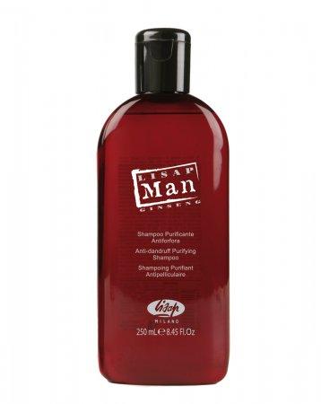 Lisap Man, szampon przeciwłupieżowy, 250ml