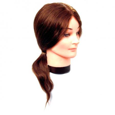 Efalock główka treningowa Elvira, 40-45cm, 100% naturalne włosy