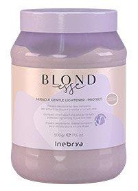 Inebrya Blondesse Gentle Protect, fioletowy proszek rozjaśniający, 500g