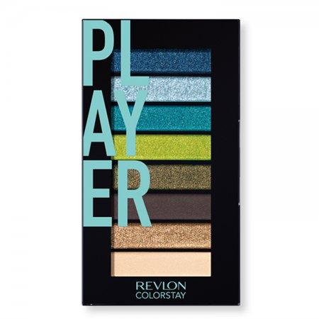 Revlon Colorstay Look Book, paleta cieni, 910 Player, 3,4g