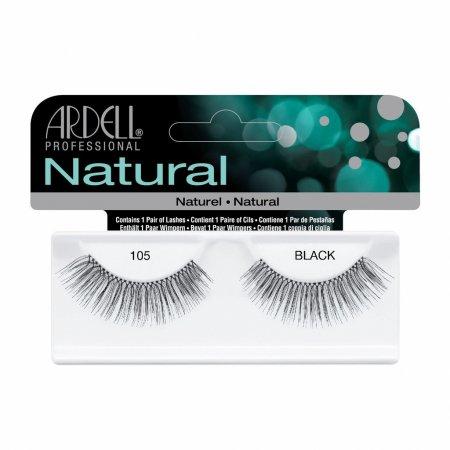 Ardell Natural Lashes 105 Black, sztuczne rzęsy