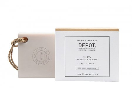 Depot No. 602, mydło do ciała, White Cedar, 100g