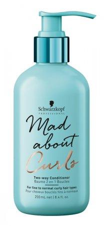 Schwarzkopf Mad About Curls, odżywka do loków na dwa sposoby, 250ml