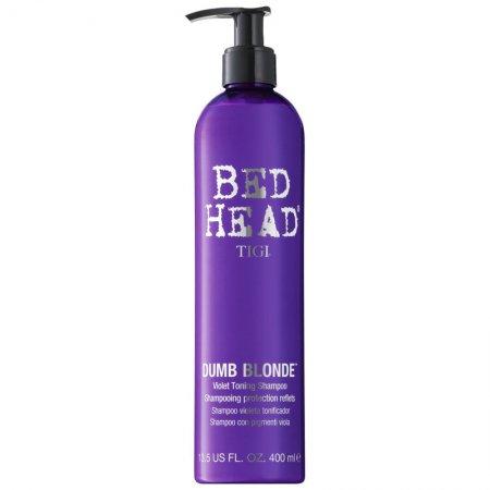 Tigi Bed Head Dumb Blonde, szampon dla blondynek, zimny odcień blondu, 400ml
