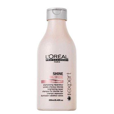 Loreal Shine Blonde, szampon regenerujący do włosów blond, 250ml