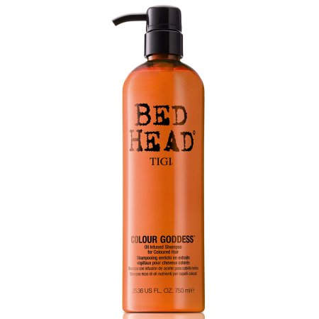 Tigi Bed Head Colour Goddess, szampon do włosów farbowanych dla brunetek i rudych, 750 ml